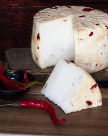 Fromage aux Piments Rouges
